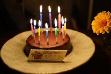 誕生日たくさんのお祝いメッセージありがとうございました!